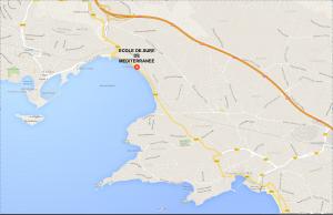 plage doré map